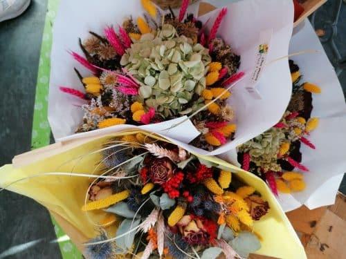 Bouquet fleur séchées