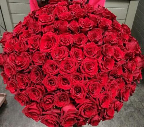 Bouquet de rose rouge